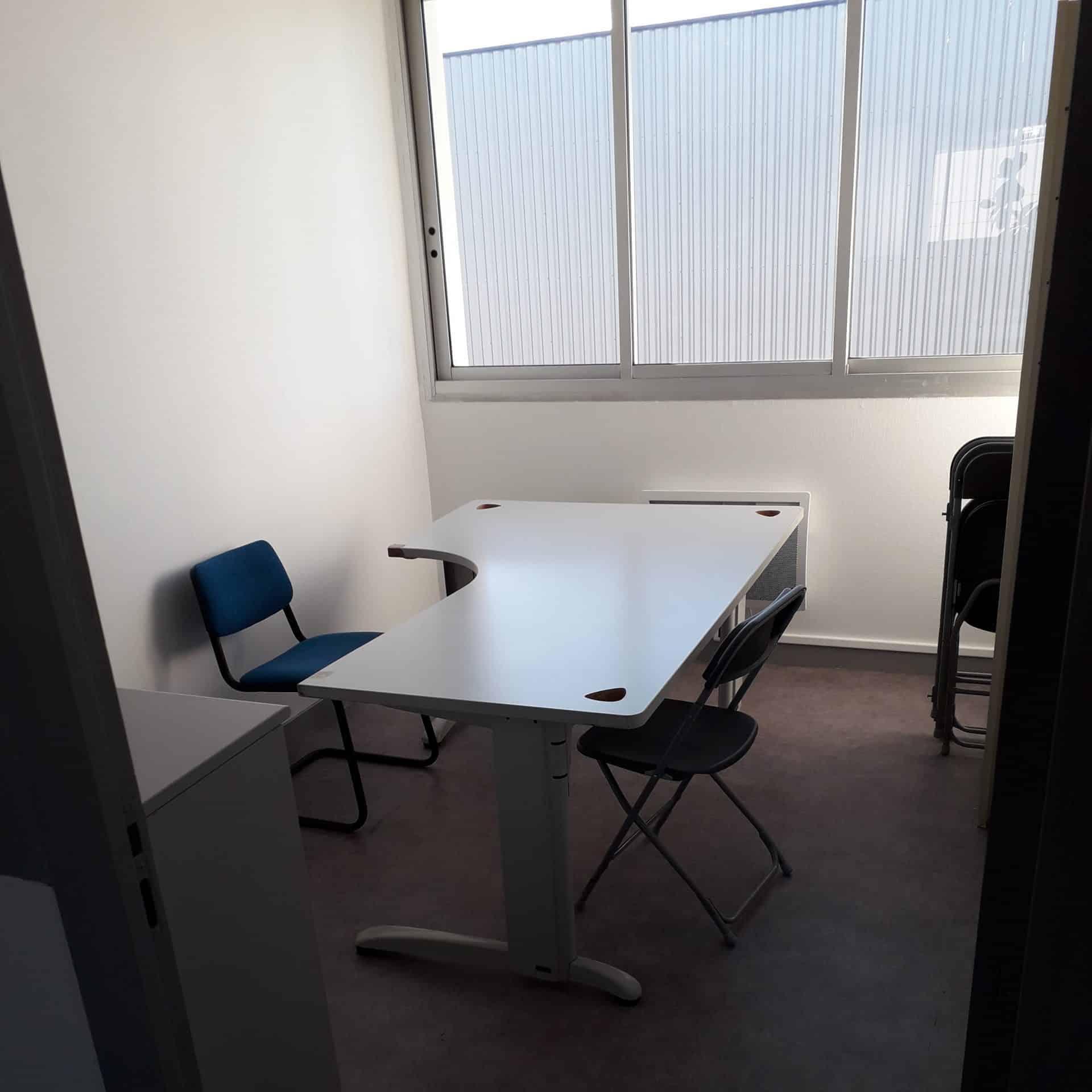 bureau fermé